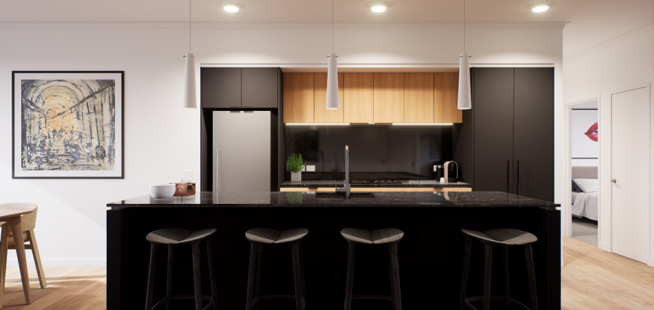 Artist impression - Kitchen