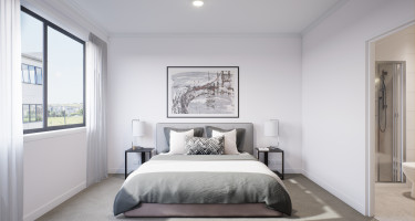Artist impression - Master bedroom/ensuite