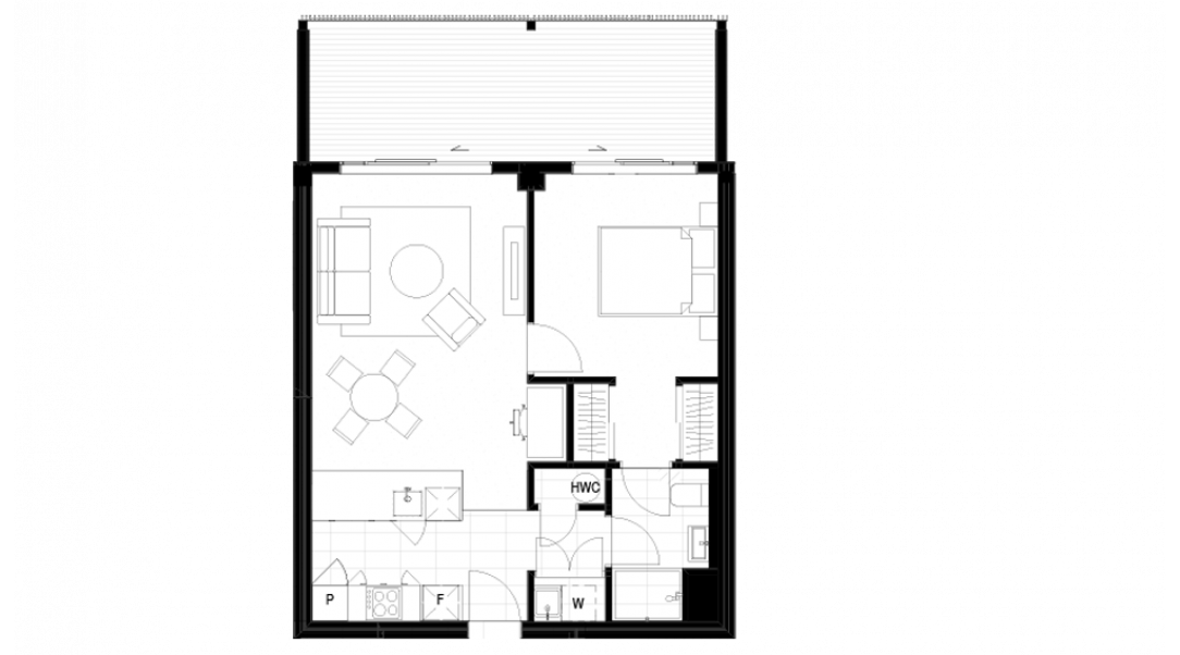 Apartment Type 1A