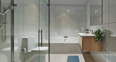 Artist impression - Terrace home bathroom