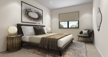 Artist impression - Terrace home bedroom
