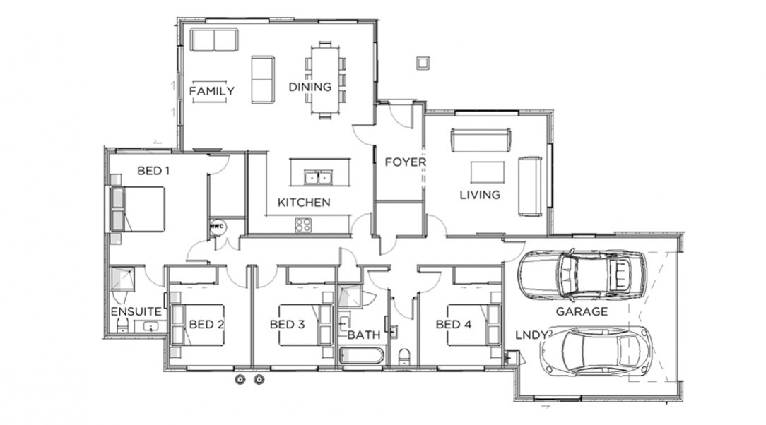Lot 12 Showhome Floor Plan