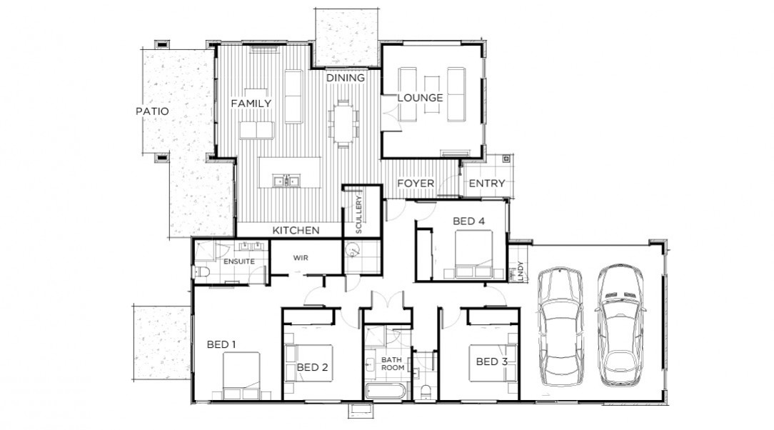 Lot 220 Floor PLan