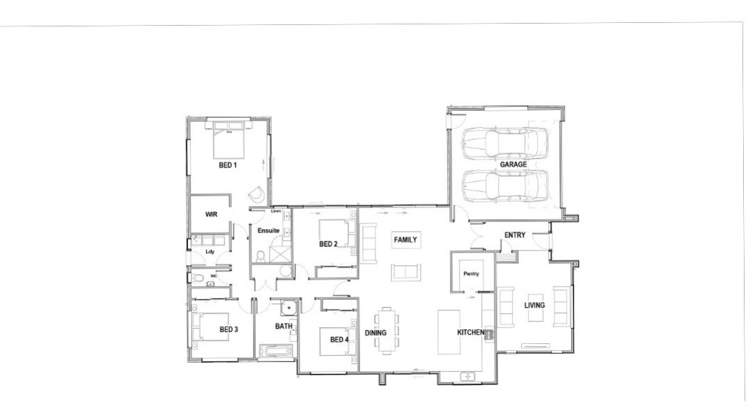 Lot 267 Floor Plan for eDM